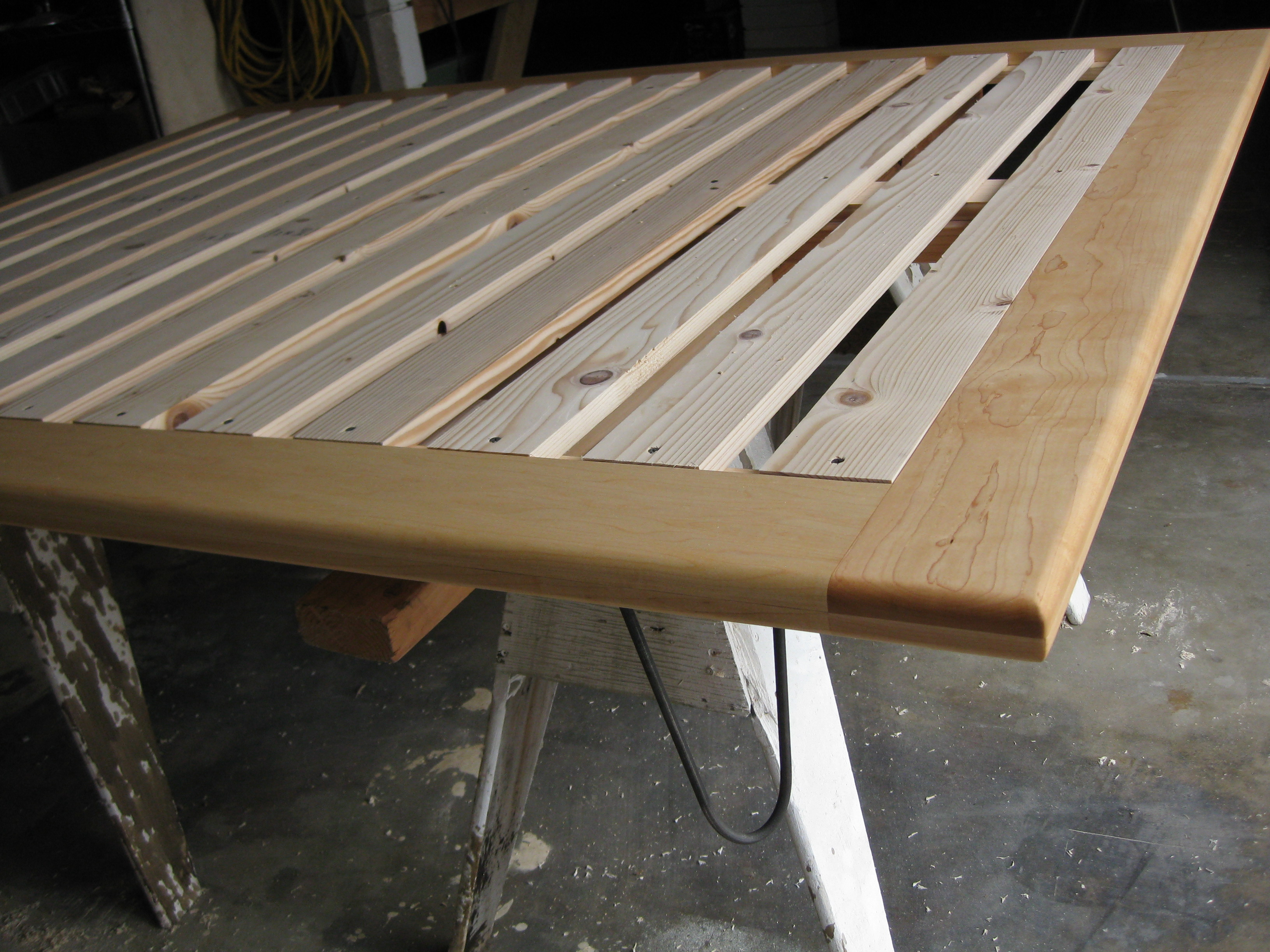 out the best way to build the slim line platform
